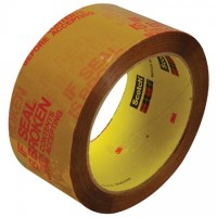 """If Seal Is Broken Check Contents Before Accepting Tape, 2"""" x 55 yds., 2.5 Mil Thick"""