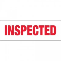 """Inspected Tape, 2"""" x 110 yds., 2.2 Mil Thick"""