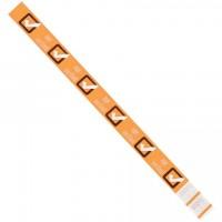 """Orange """"Age Verified"""" Tyvek® Wristbands, 3/4 x 10"""""""