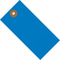 Blue Tyvek® Shipping Tags #1 - 2 3/4 x 1 3/8""