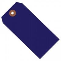 """Blue Plastic Tags #5 - 4 3/4 x 2 3/8"""""""