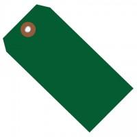 """Green Plastic Tags #8 - 6 1/4 x 3 1/8"""""""
