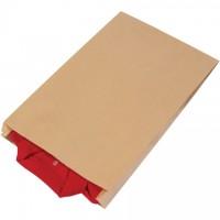 "Kraft Paper Merchandise Bags, #17, Gusseted - 14 x 3 x 21"""