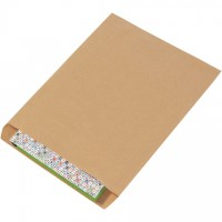 "Kraft Paper Merchandise Bags, #12 - 12 x 15"""