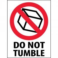 "International Safe Handling Labels -"" Do Not Tumble"", 3 x 4"""