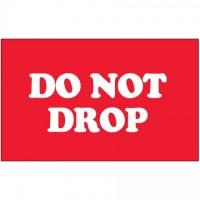""" Do Not Drop"" Labels, 3 x 5"""
