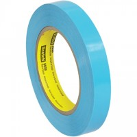 "3M 8898 Blue Strapping Tape, 3/4"" x 60 yds., 4.6 Mil Thick"