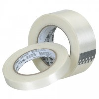 "3M 8932 Clear Strapping Tape, 1/2"" x 60 yds., 3.75 Mil Thick"
