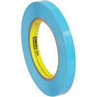 "3M 8898 Blue Strapping Tape, 1/2"" x 60 yds., 4.6 Mil Thick"