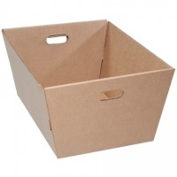 Corrugated Totes, 25 x 19 x 12""