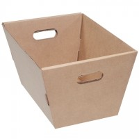 Corrugated Totes, 19 1/2 x 13 x 10""