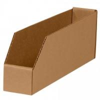 "Kraft Corrugated Bin Boxes, 2 x 9 x 4 1/2"""