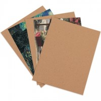 "Heavy Duty Chipboard Pads - 0.050"" Thick, 8 1/2 x 11"""