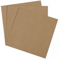 "Chipboard Pads - 0.022"" Thick, 12 x 12"""