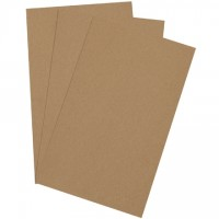 "Chipboard Pads - 0.022"" Thick, 8 1/2 x 14"""