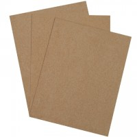 "Chipboard Pads - 0.022"" Thick, 8 1/2 x 11"""
