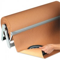 "Indented Kraft Paper Rolls, 18"" Wide - 60 lb."