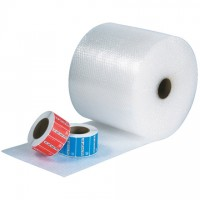 "Bubble Rolls, UPSable, Large, 1/2"" X 12"" X 125', Non-Perforated"