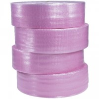 "Bubble Rolls, Anti-Static, Large, 1/2"" X 12"" X 250', Perforated"