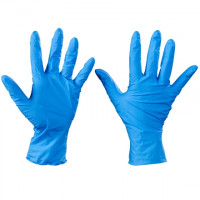 Ansell® TNT® Blue Nitrile Gloves - 5 Mil - Large