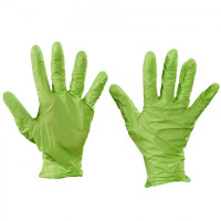 Best® N-Dex® Green Nitrile Gloves - 4 Mil - Small
