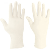 Ansell® Conform® XT Powder Free Exam Grade Latex Gloves - White - 5 Mil - Medium