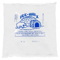 Ice-Brix™ 12 oz. Cold Packs - 6 X 5 3/4 X 1""