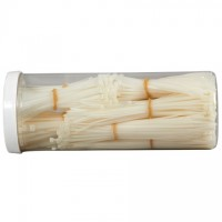 Cable Tie Kit, Assorted Natural