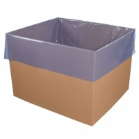 "VCI Gusseted Poly Bags, 23 X 17 X 46"", 4 Mil"