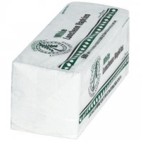 Paper Luncheon Napkins, White, 12 1/2 x 11 3/4