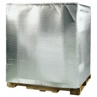 Insulated Bubble Pallet Covers, 48 x 40 x 60""