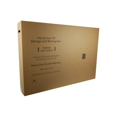 Medium Flat Screen TV Moving Box - 46