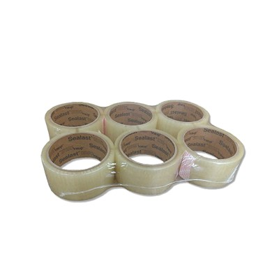 Clear Packing Tape, 6 Rolls