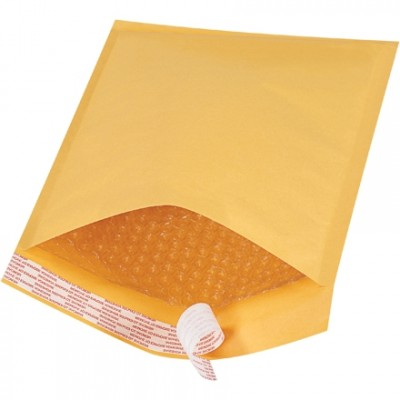 Bubble Mailers, #2, 8 1/2 x 12
