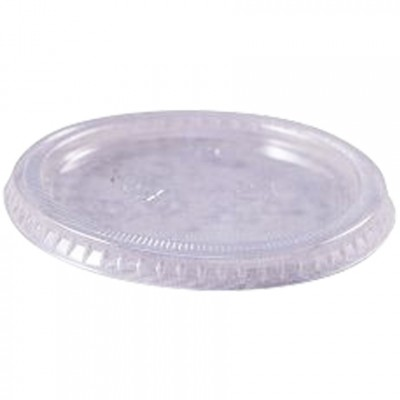 Plastic Portion Cup Lids for 3 1/4 and 4 oz.