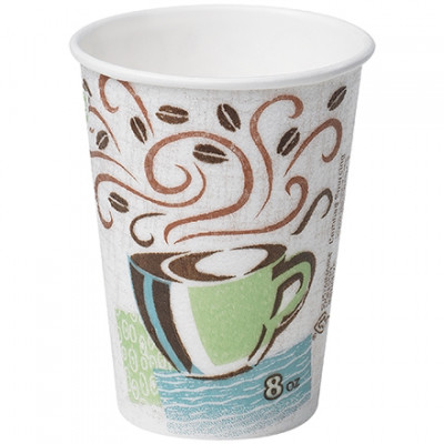 Dixie® Perfect Touch Insulated Cups, 8 oz.