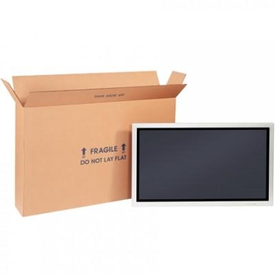 Corrugated Boxes, Side Loading, 22 x 6 x 16