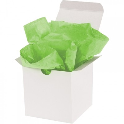 Citrus Green Tissue Paper Sheets, 15 X 20