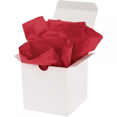 Scarlet Tissue Paper Sheets, 15 X 20