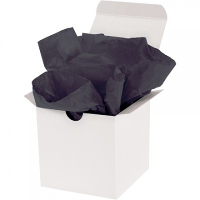Black Tissue Paper Sheets, 15 X 20