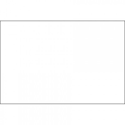 Blank Inventory Rectangle Labels - White, 2 x 3