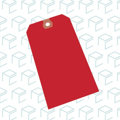 Red Tags - Case of 1000