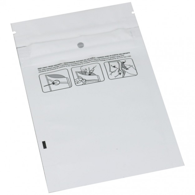 "Medjacket™ Child-Resistant Reclosable Pouch - 3.62 x 5.86 x 1.5"""