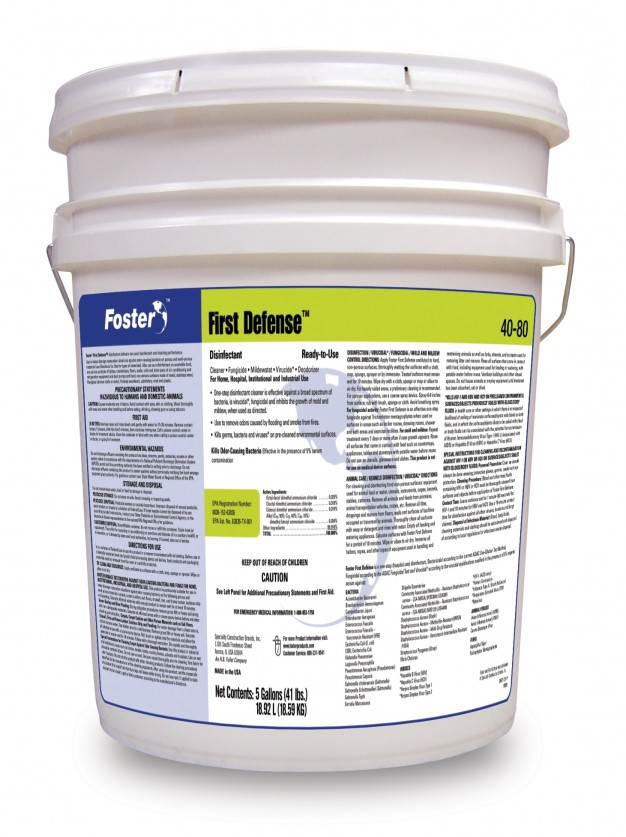 Foster 40-80 Disinfectant, 5 Gallon