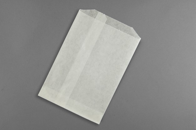 """Candy Bags, 5 3/4 x 7 1/2"""", White"""
