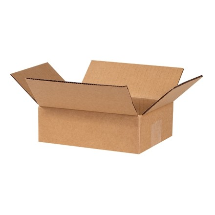 "Corrugated Boxes, 6 x 4 x 2"", Kraft"