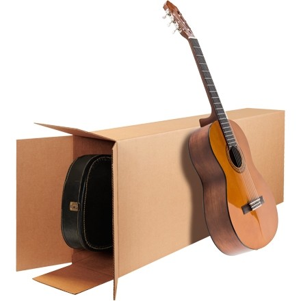 "Corrugated Boxes, Side Loading, 18 x 6 x 45"""