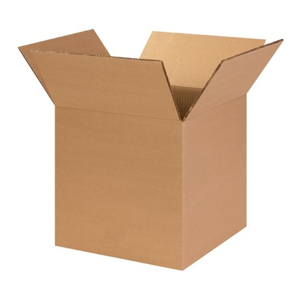 "Corrugated Boxes, 14 x 14 x 14"", Heavy Duty, Cube"