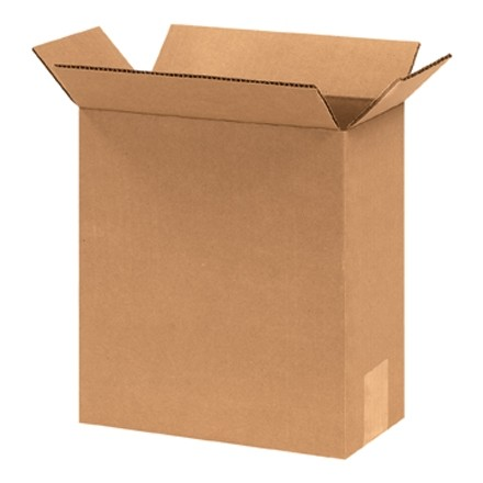 "Corrugated Boxes, 6 x 4 x 8"", Kraft"