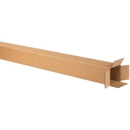 "Corrugated Boxes, 4 x 4 x 60"", Kraft"